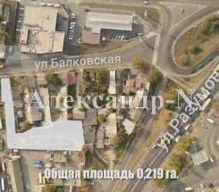 Участок (Разумовская/Балковская) - улица Разумовская/Балковская за 190 000 у.е.