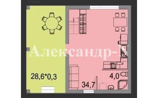 2-этажный дом (Лески/Бочарова Ген.) - улица Лески/Бочарова Ген. за