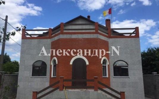 2-этажный дом (Лески/Морская) - улица Лески/Морская за