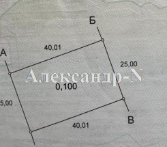 Участок (Фонтанка/Южная) - улица Фонтанка/Южная за 420 000 грн.