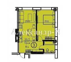 1-комнатная квартира (Кузнечная/Успенская) - улица Кузнечная/Успенская за 1 983 410 грн.