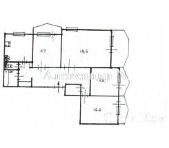 4-комнатная квартира (Вильямса Ак./Королева Ак.) - улица Вильямса Ак./Королева Ак. за 1 701 000 грн.