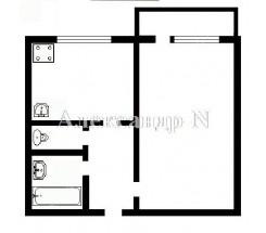 1-комнатная квартира (Королева Ак./Тополевая) - улица Королева Ак./Тополевая за 840 000 грн.