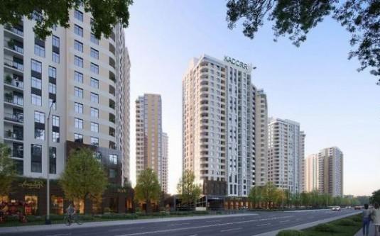 1-комнатная квартира (Краснова/Швыгина Ген.) - улица Краснова/Швыгина Ген. за