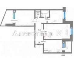 4-комнатная квартира (Ильфа И Петрова/Архитекторская) - улица Ильфа И Петрова/Архитекторская за 1 152 440 грн.