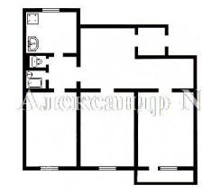 3-комнатная квартира (Софиевская/Торговая) - улица Софиевская/Торговая за 3 360 000 грн.