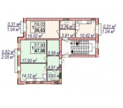 3-комнатная квартира (Майский пер./Дачная) - улица Майский пер./Дачная за 4 900 000 грн.