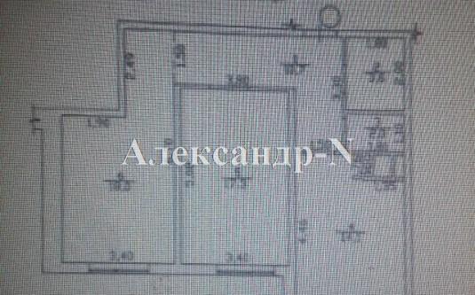 2-комнатная квартира (Среднефонтанская/Апельсин) - улица Среднефонтанская/Апельсин за