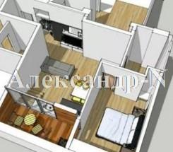 2-комнатная квартира (Греческая/Дерибасовская) - улица Греческая/Дерибасовская за 1 404 000 грн.