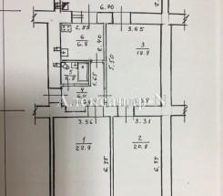 3-комнатная квартира (Екатерининская Пл./Екатерининская) - улица Екатерининская Пл./Екатерининская за 6 750 000 грн.
