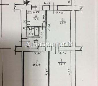 3-комнатная квартира (Екатерининская Пл./Екатерининская) - улица Екатерининская Пл./Екатерининская за 250 000 у.е.