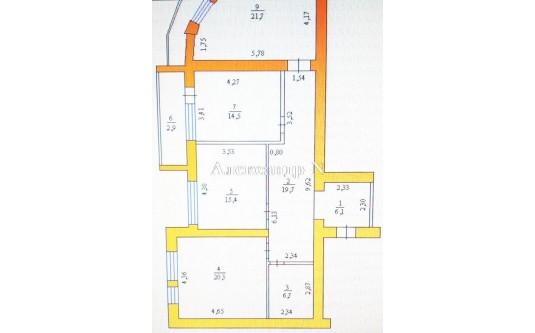 3-комнатная квартира (Вильямса Ак./Королева Ак.) - улица Вильямса Ак./Королева Ак. за