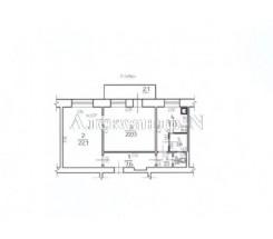 2-комнатная квартира (Хмельницкого Богдана/Мясоедовская) - улица Хмельницкого Богдана/Мясоедовская за 931 500 грн.