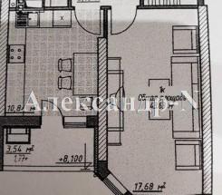 1-комнатная квартира (Генуэзская/Гагаринское Плато/Элегия Парк) - улица Генуэзская/Гагаринское Плато/Элегия Парк за 1 215 000 грн.