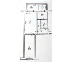2-комнатная квартира (Сортировочная 1-Я/Николаевская дор.) - улица Сортировочная 1-Я/Николаевская дор. за 756 000 грн.
