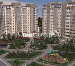 1-комнатная квартира (Сахарова/Высоцкого/Эко Соларис) - улица Сахарова/Высоцкого/Эко Соларис за 405 000 грн.