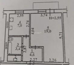 1-комнатная квартира (Ростовская/Днепропетр. дор.) - улица Ростовская/Днепропетр. дор. за 693 500 грн.