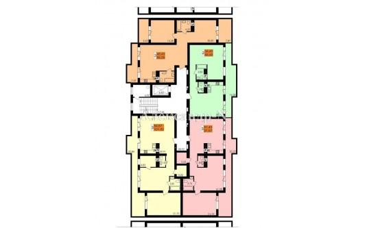 3-комнатная квартира (Фонтанка/Чехова/Заболотного Ак./Ривьера Сити) - улица Фонтанка/Чехова/Заболотного Ак./Ривьера Сити за