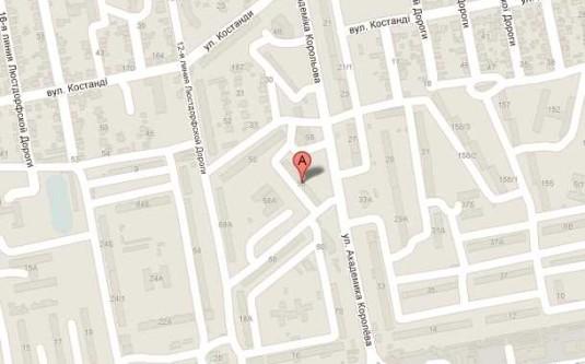 Офис (Королева Ак./Деревянко Пл.) - улица Королева Ак./Деревянко Пл. за